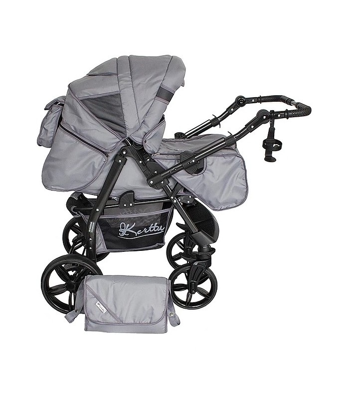 Twist 77 Light-Grey Fabric Travel System 2in1 / 3in1