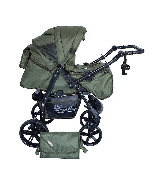 Twist 78 Olive Fabric Travel System 2in1 / 3in1