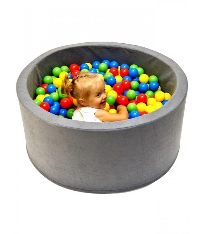 Children's Ball Pool FUN Grey-Tiles