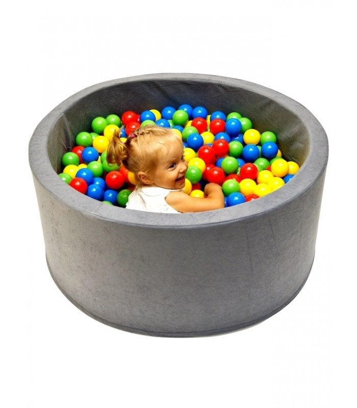 Children's Ball Pool FUN Grey-Hexagons