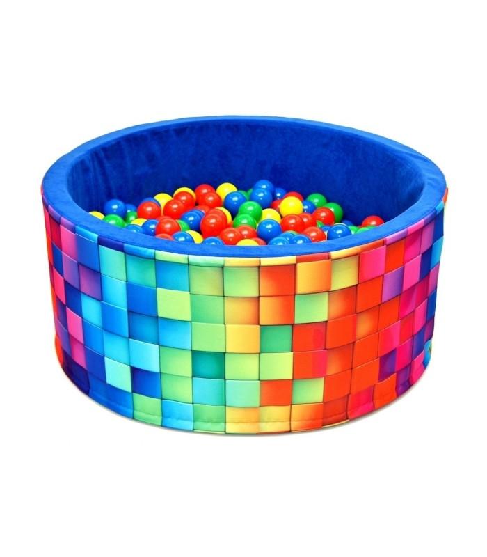 Kinderball Pool FUN Blue-Tiles