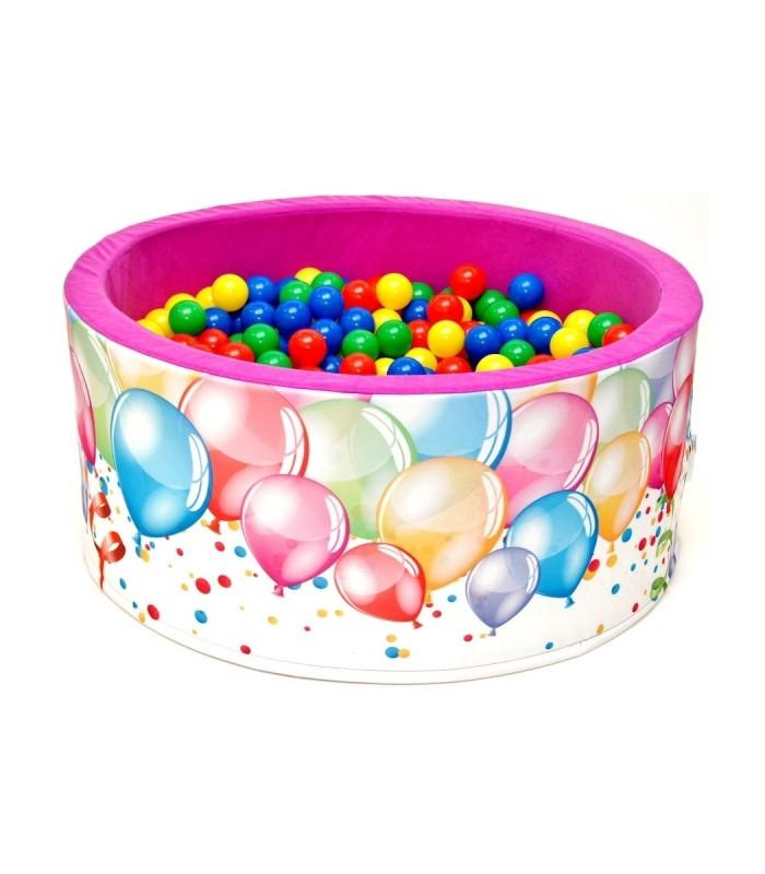 Children's Ball Pool FUN Pink-Balloons