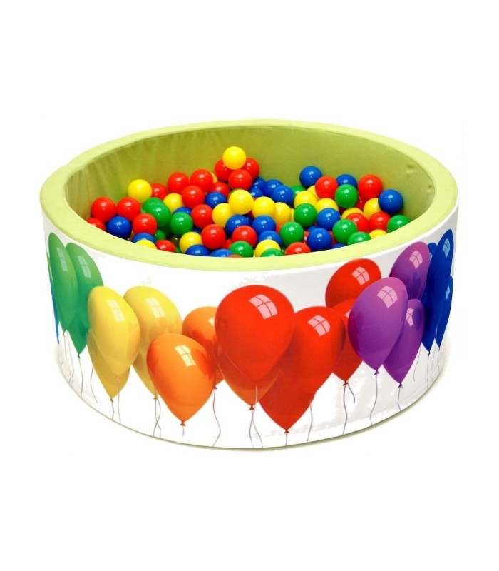 Children's Ball Pool FUN Green-Balloons