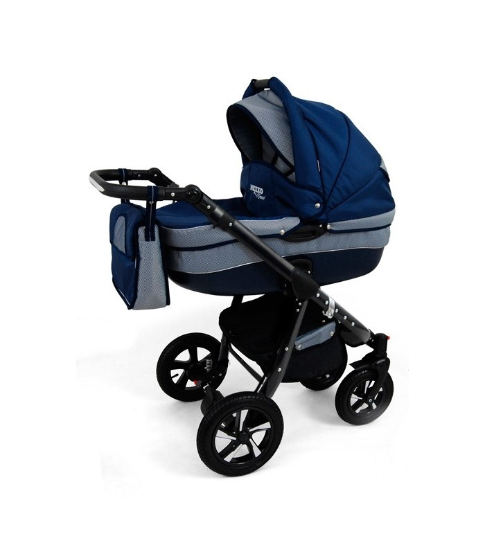 Nexxo N5 Black Frame Travel System 2in1 / 3in1 / 4in1