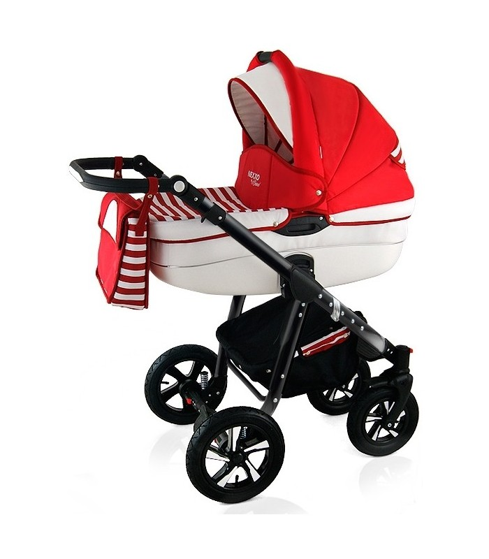 Nexxo N11 Black Frame Travel System 2in1 / 3in1 / 4in1