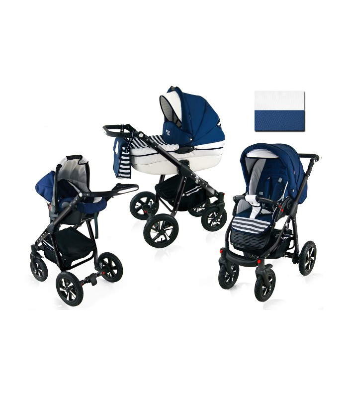 Nexxo N14 Black Frame Travel System 2in1 / 3in1 / 4in1