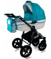 Nexxo N16 Black Frame Travel System 2in1 / 3in1 / 4in1