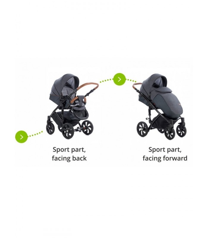 Tutis Viva Life 076 Eco-Leather Travel System 2in1 / 3in1 / 4in1
