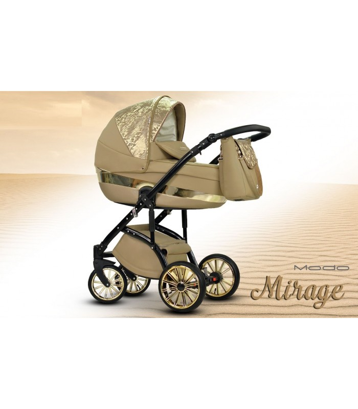 MODO Exclusive Mirage Leatherette Travel System 2in1 / 3in1 / 4in1