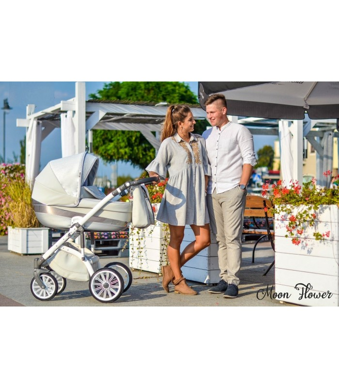 MODO Exclusive Moon Flower  Leatherette Travel System 2in1 / 3in1 / 4in1