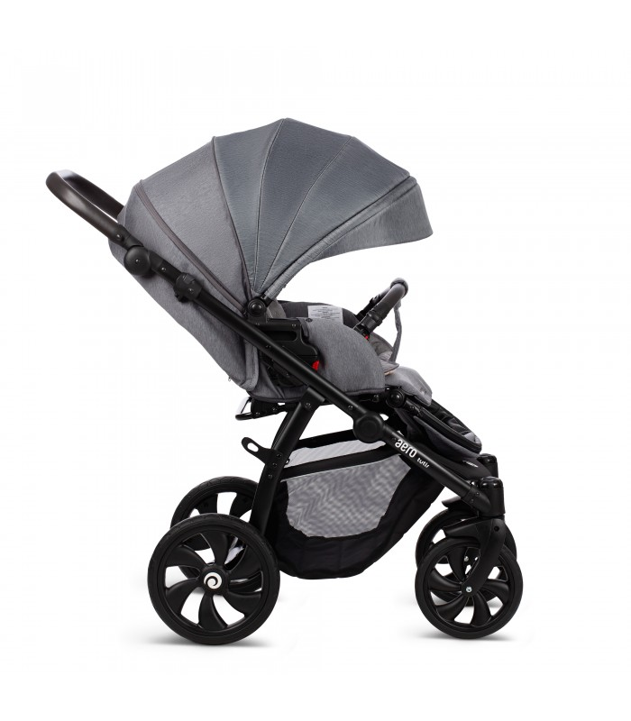 Aero Tutis 111 Silver Moon Exclusive Leatherette Edition Travel System 2in1 / 3in1 / 4in1